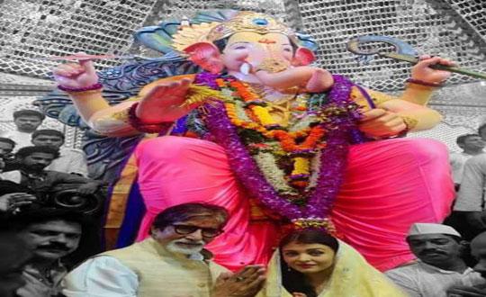 গনপতি বাপ্পা মোরিয়া- ব্যস্ত বলি তারকারও দেখে নিন তাদের কিছু মুহূর্ত
