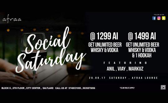 Join this Social Saturday
