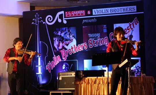 Monsoon String Orchestra at PC Chandra Gardens