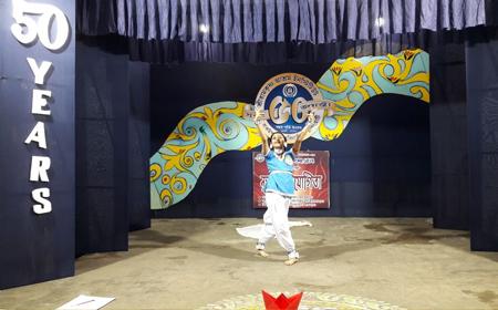 Dance Competition: Sri Ramakrishna Ashrama Institute Celebrating Semicentennial