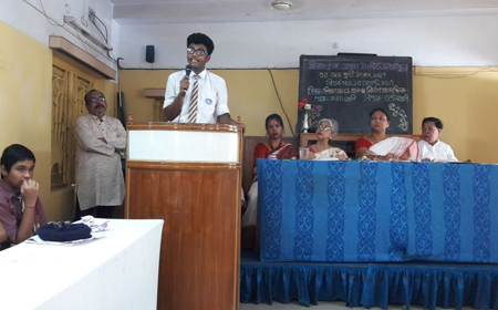 Debate & Painting Competition: In Secondary Section of Sri Ramakrishna Ashrama Institute: Celebrating Golden Jubilee
