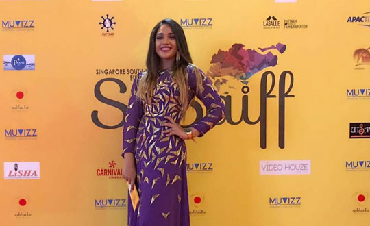 Mumtaz Sorcar at Singapore South Asian International Film Festival