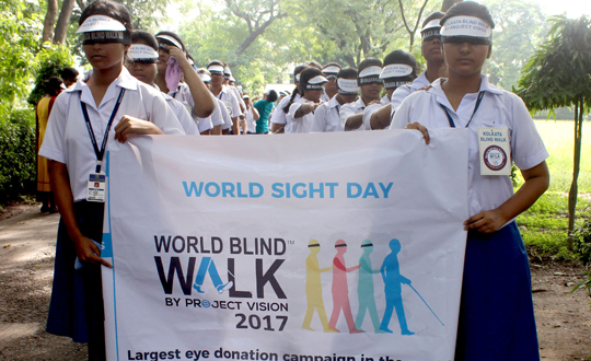 Blindwalk 2017 the largest Eye Donation campaign in the world