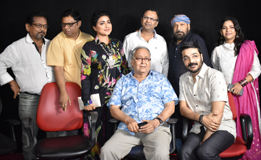 Lauched the trailer of their upcoming film MAYURAKSHI
