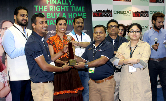 Tollywood Actress Graces the Closing Ceremony of  CREDAI Bengal's 10th Realty Expo