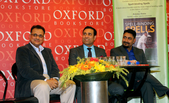 "Oxford bookstore hosts the coveted launch of  ""Spell-binding Spells"""