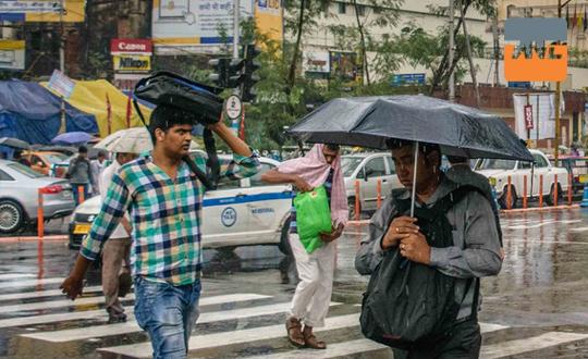 কলকাতার শীতে বৃষ্টির ধাক্কা