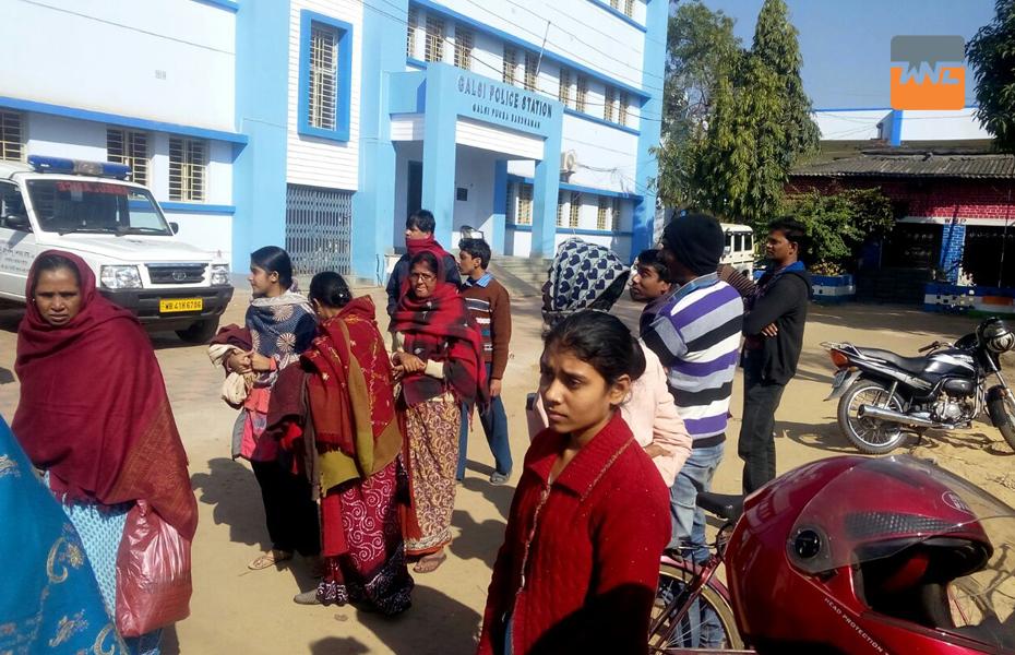 রহস্যজনক মৃত্যু গলসিতে