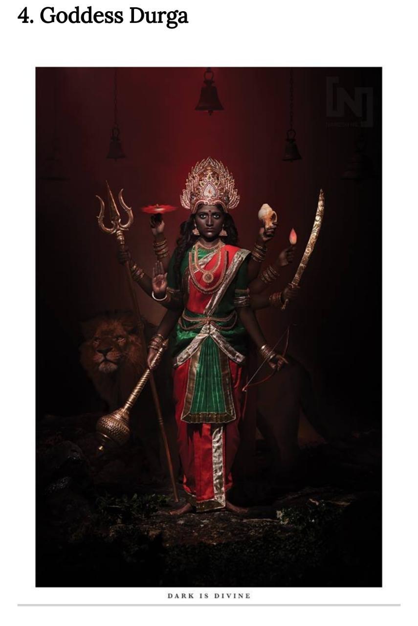 হিন্দু দেব দেবীর গায়ের রং বদলে দিলেন চিত্র নির্মাতা