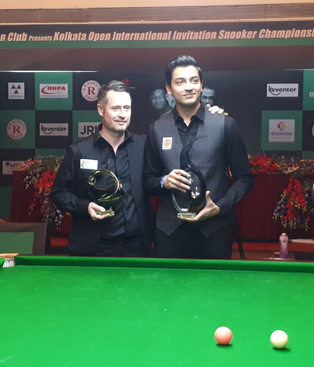 Aditya wins the Kolkata Open 2018
