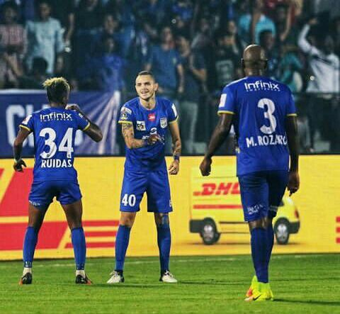 Mumbai and Bangalore are playing today in isl
