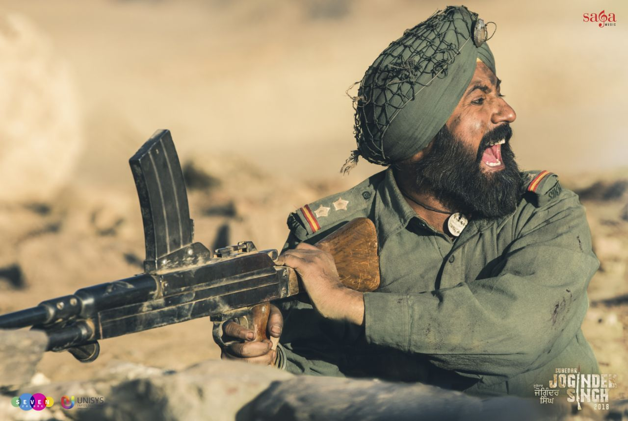 The nation's first ever biopic of the Param Vir Chakra recipient 'Subedar Joginder Singh'