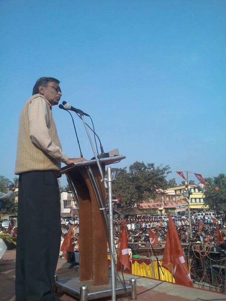 বেশি গনতন্ত্র আমাদের পার্টিতেই : ঘাটালে সূর্যকান্ত