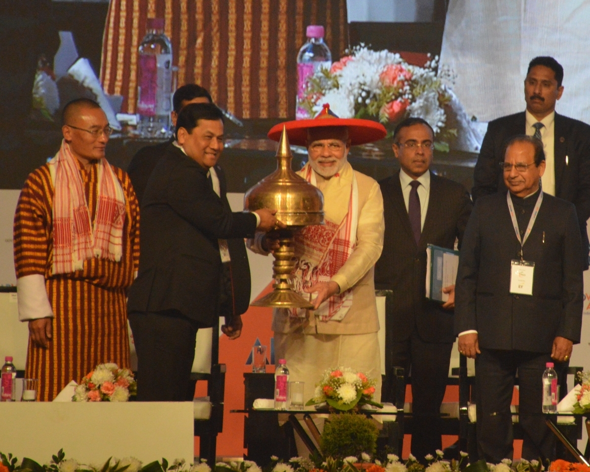 Advantage Assam Global Sri Narendra Modi inaugurated the summit
