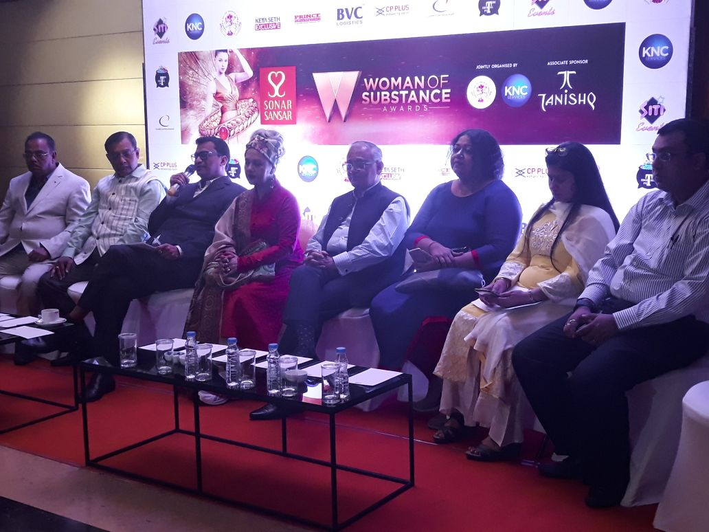 The 2nd edition of woman of substance award from bengal