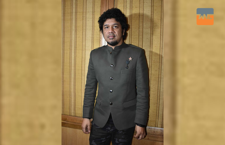 Papon shared with the audience his journey