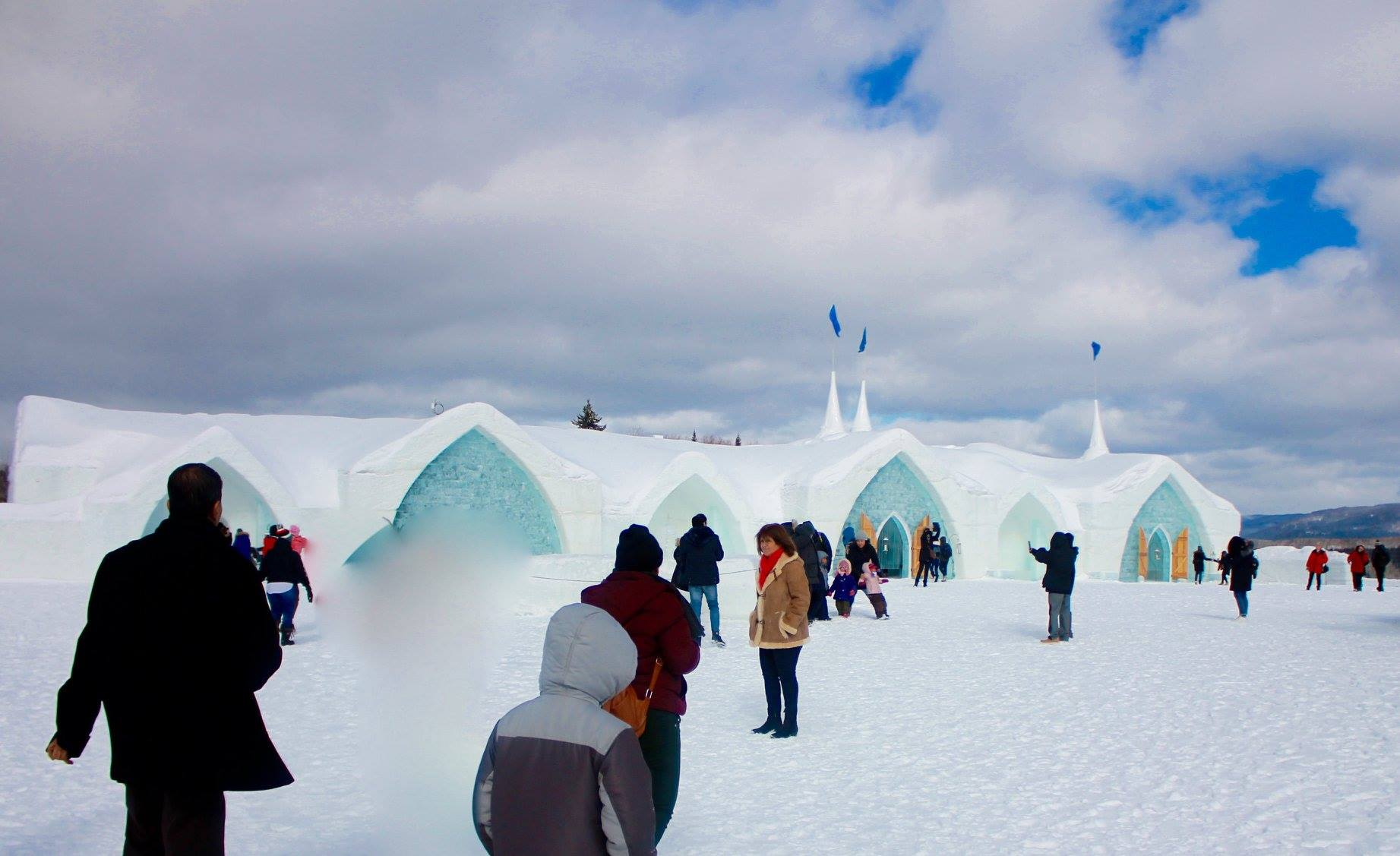 Ice Hotel in North America