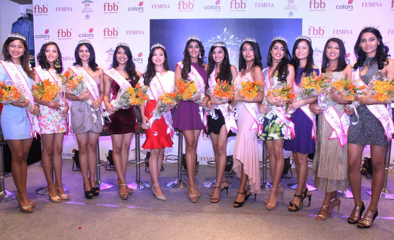 Fbb honors fbb Colors Femina Miss India 2018 East Zone state winners