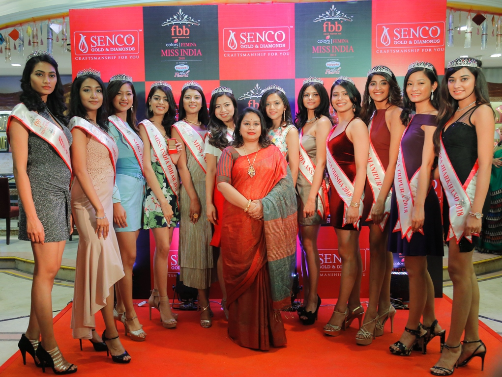 Unique fashion show with fbb Colors Femina Miss India