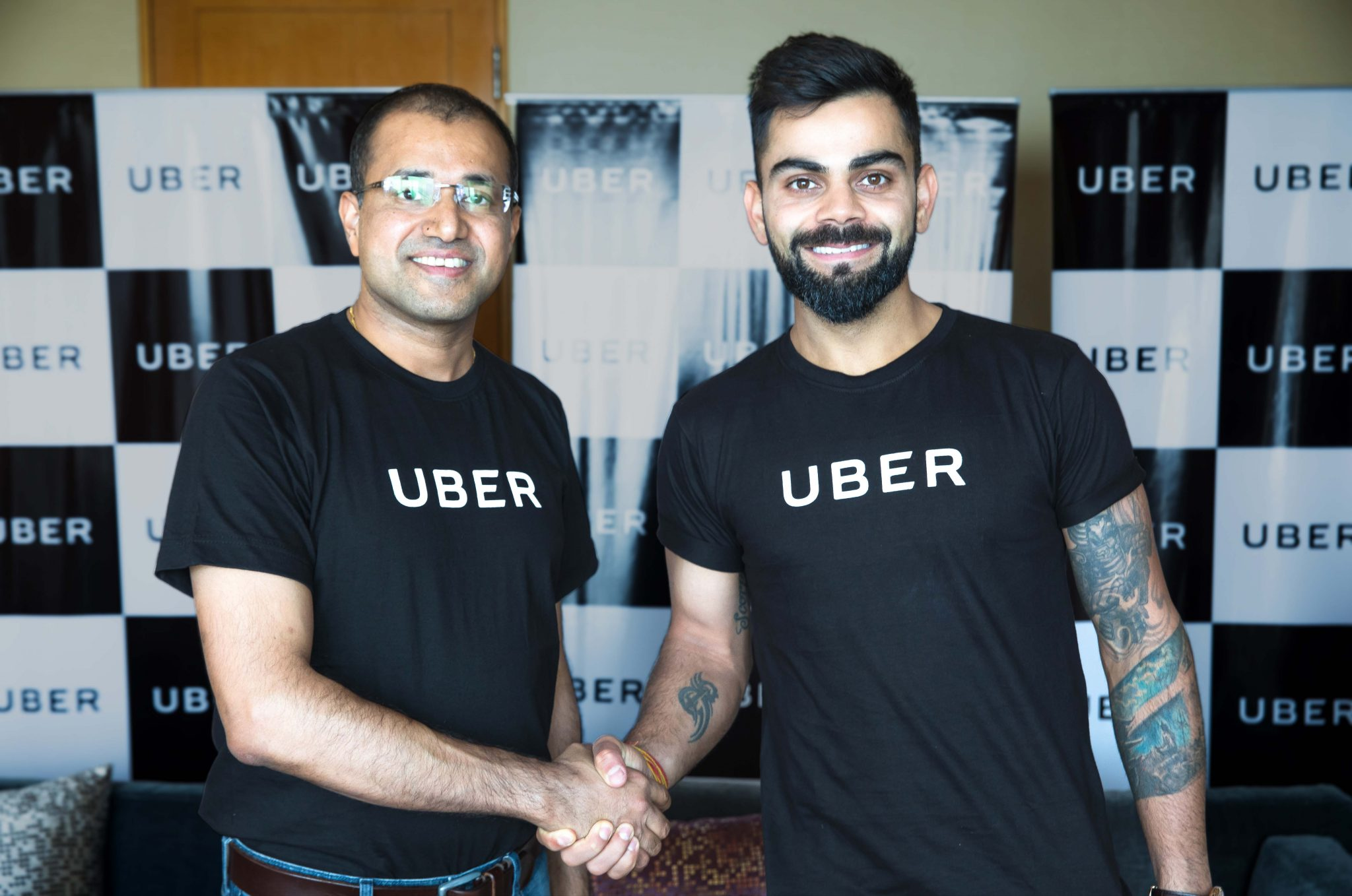 Virat Kohli steps out to bat as Brand Ambassador for Uber India