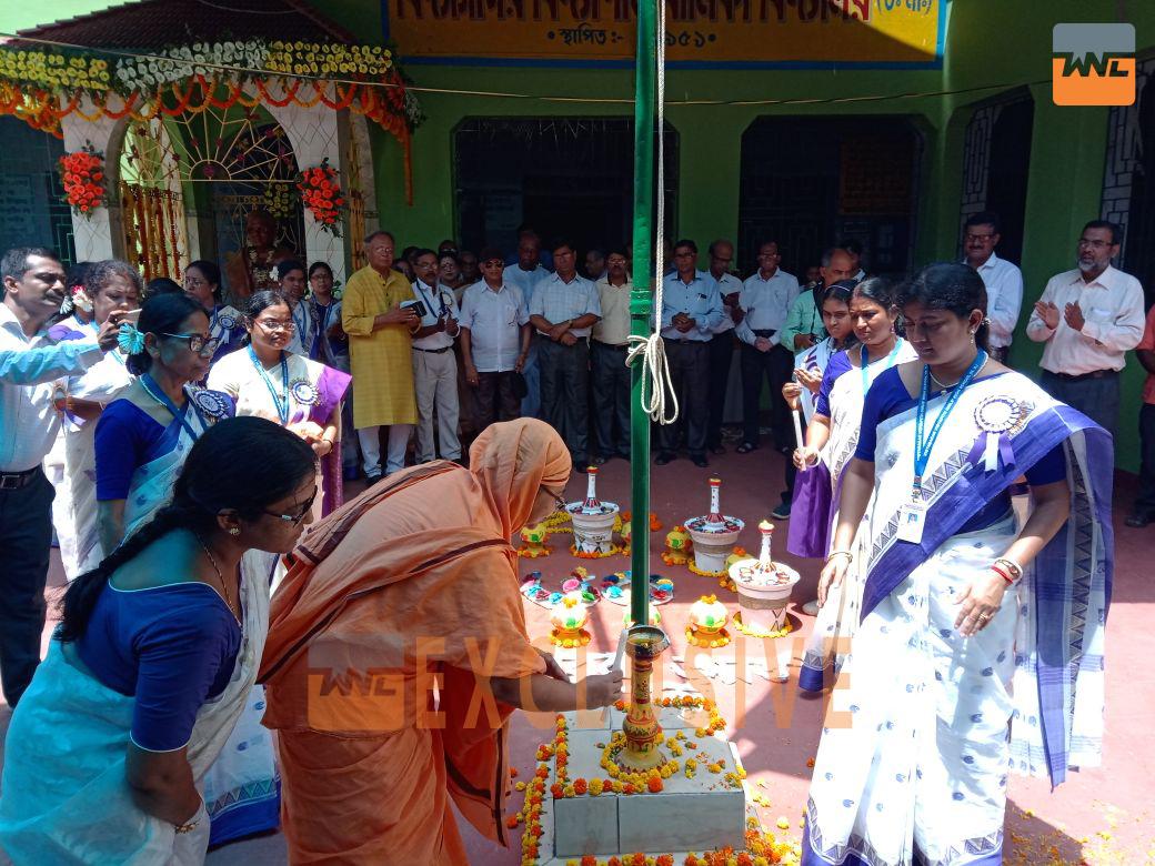 বিদ্যাসাগর বিদ্যাপীঠ বালিকা বিদ্যালয়ের হীরক জয়ন্তী উৎসবের সূচনা