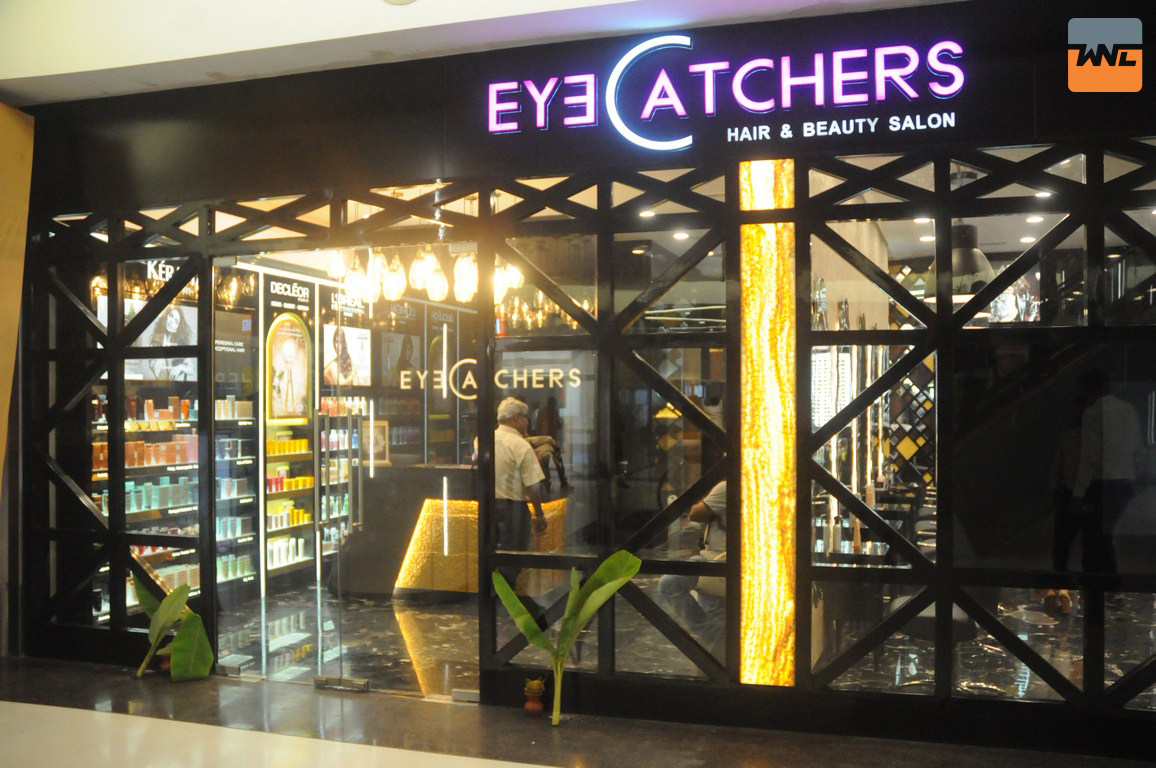 """EyeCatchers, Hair and Beauty Salon"" 13th outlet at South City Mall"