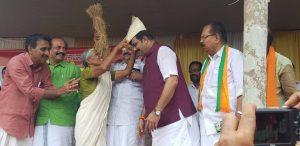 Land movement in Kerala