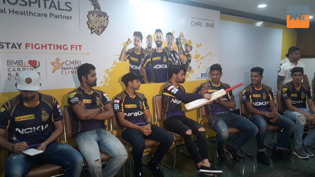 CK Birla Hospitals joined hands with Kolkata Knight Riders as official healthcare partner