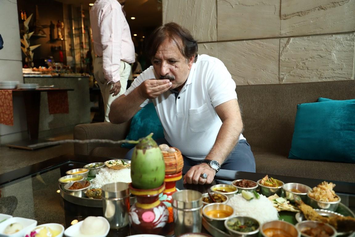 Majid Majidi visits Satyajit Ray's city