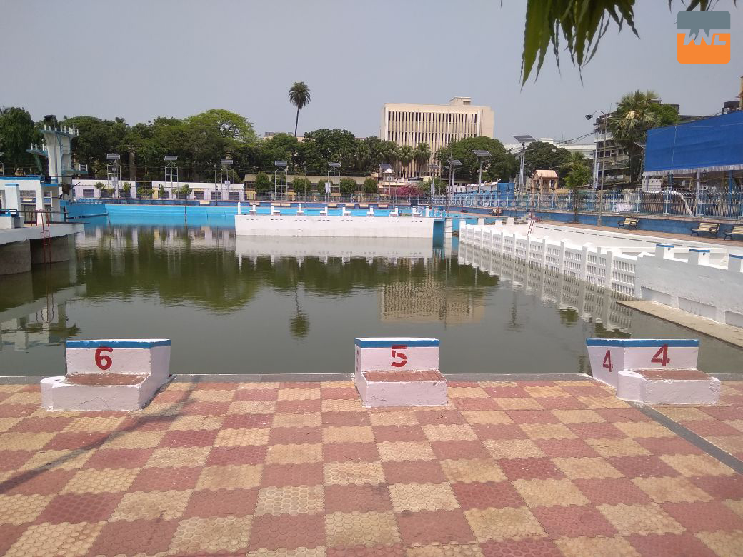 college square swimming pool is going to open in the bengali new year