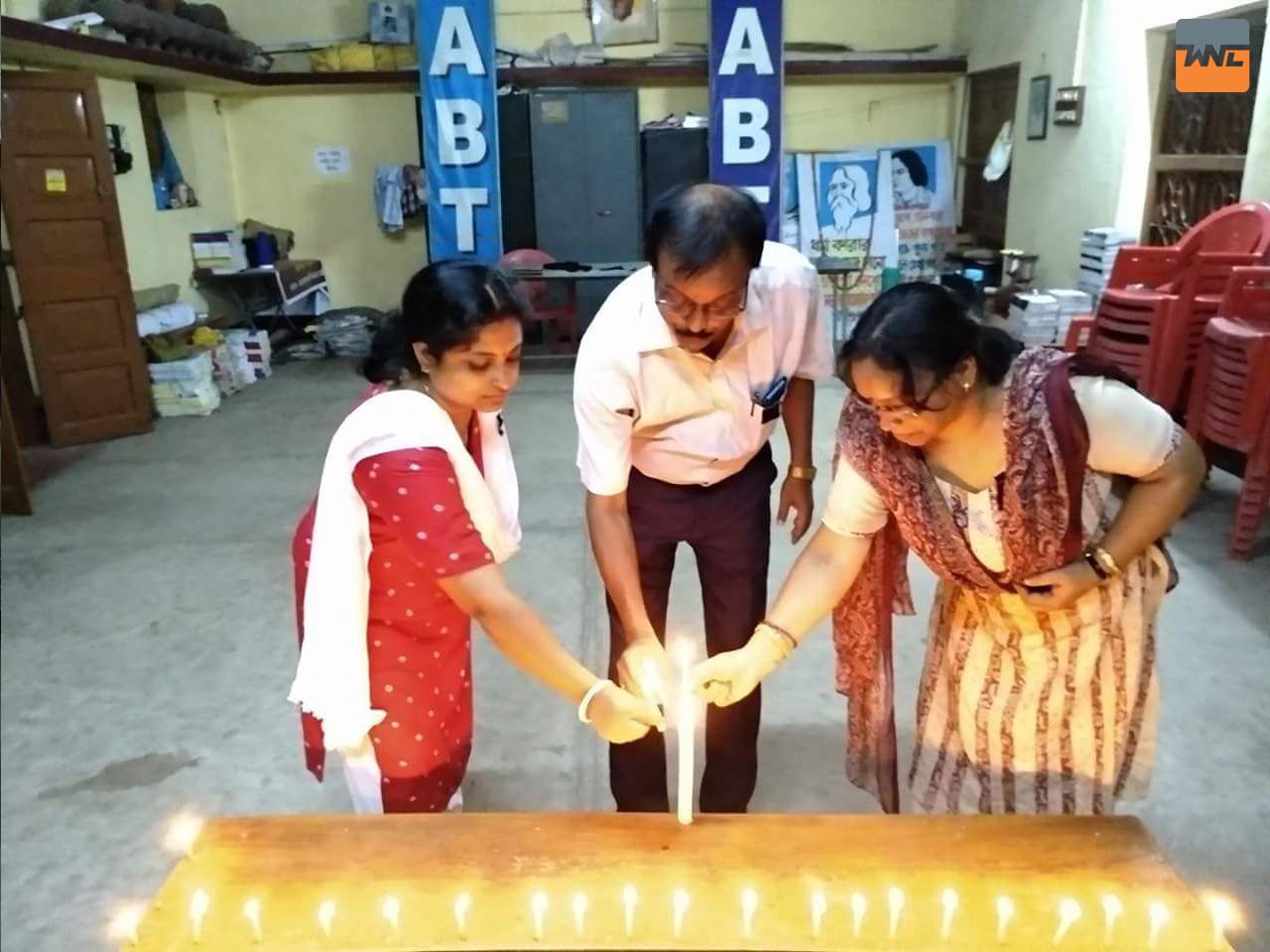 শিক্ষক রাজকুমার রায়ের মৃত্যুতে রাজ্যব্যাপী এবিটিএ'র প্রতিবাদ কর্মসূচি