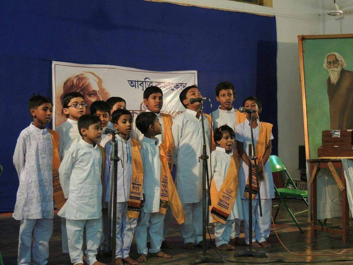বিশ্বকবি স্মরণে মেদিনীপুরে অনুষ্ঠিত হলো 'কবি প্রণাম'