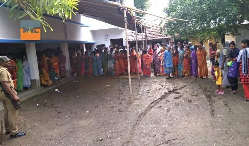রাজ্যের ৫৬৮ বুথে চলছে পুনর্নির্বাচন