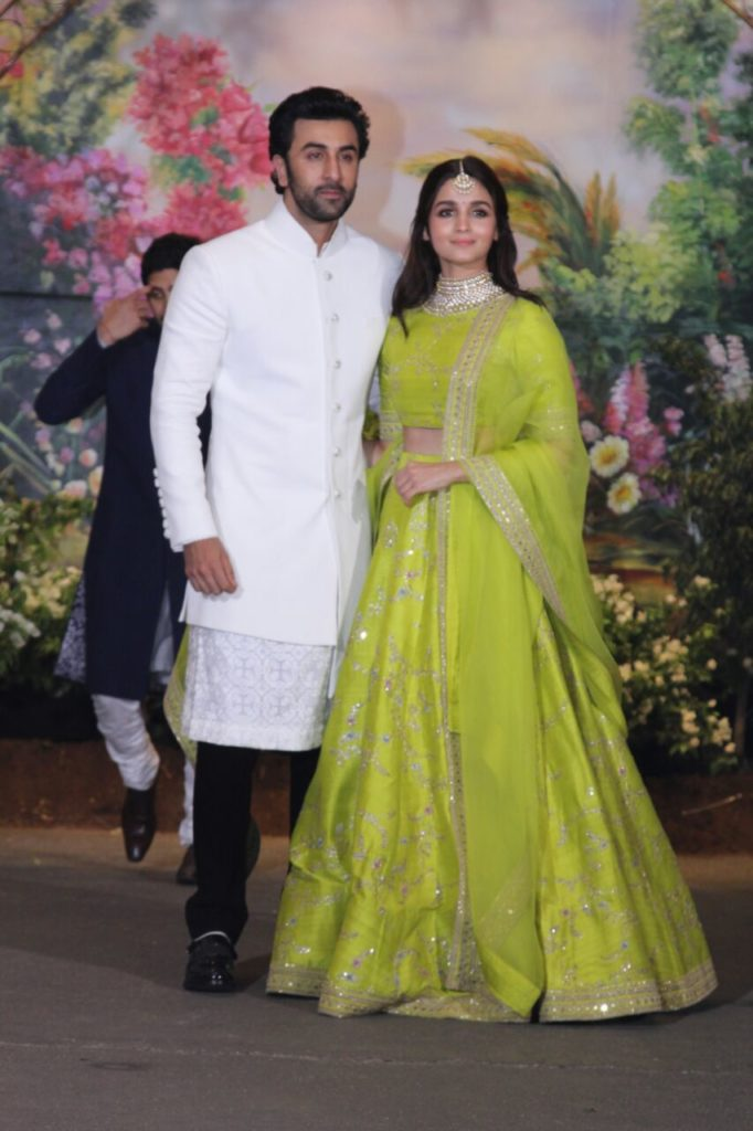 Sonam Kapoor and her husband Anand Ahuja's wedding reception