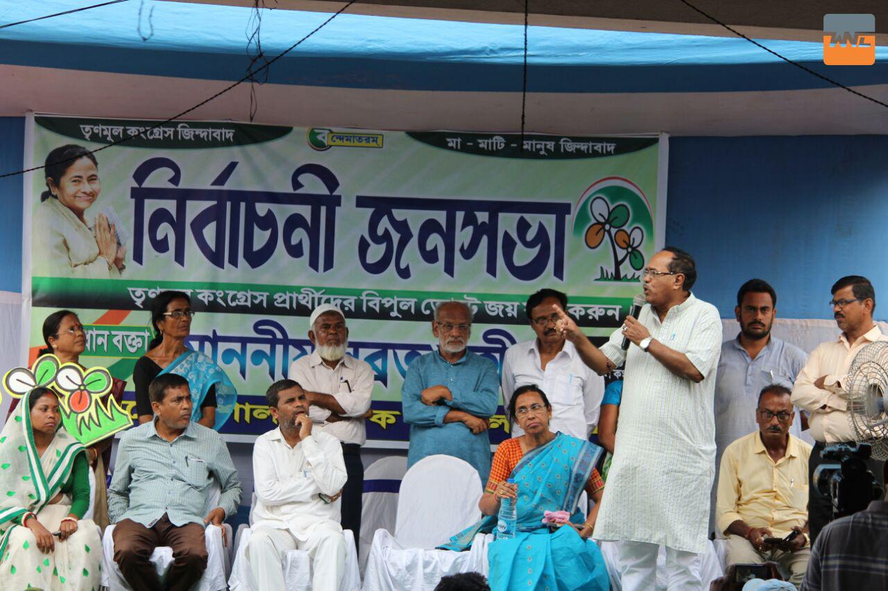 উৎসবের মেজাজে ভোট দিন : সুব্রত বক্সী