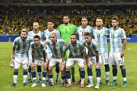 ২০১৮ ফুটবল বিশ্বকাপের দল ঘোষণা করলো আর্জেন্টিনা