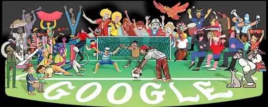 বিশ্বকাপ ফুটবল নিয়ে নানা রঙে রঙিন হবে গুগল ডুডল