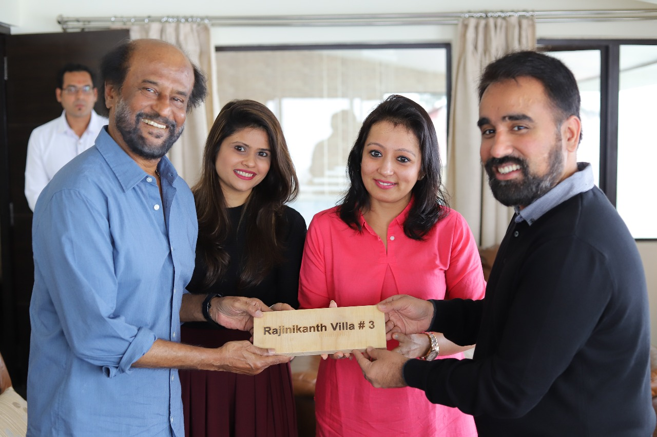 allita hotels hosts actor rajinikanth