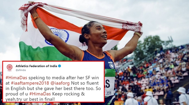 First-ever Indian to win the gold at a track event at any international event