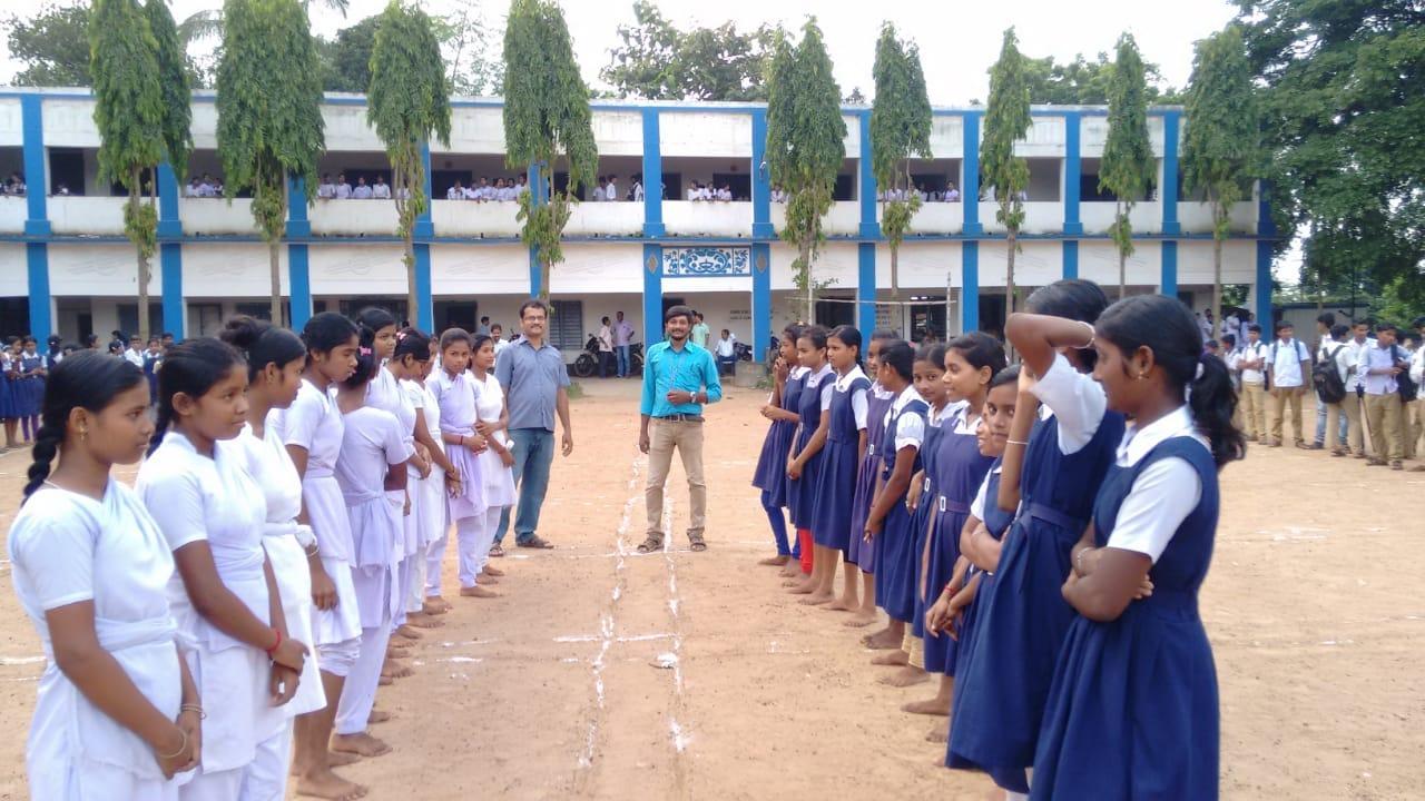 খাজরায় শেষ হলো ছাত্রীদের খো খো প্রতিযোগিতা