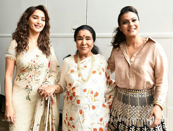 These pictures of Kajol, Madhuri Dixit and Asha Bhosle are every fan's dream come true
