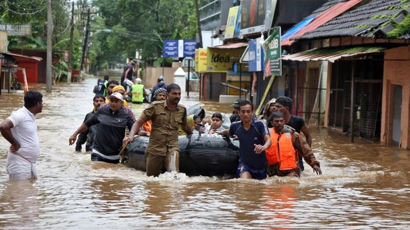 Deadly Kerala floods displace over 800,000
