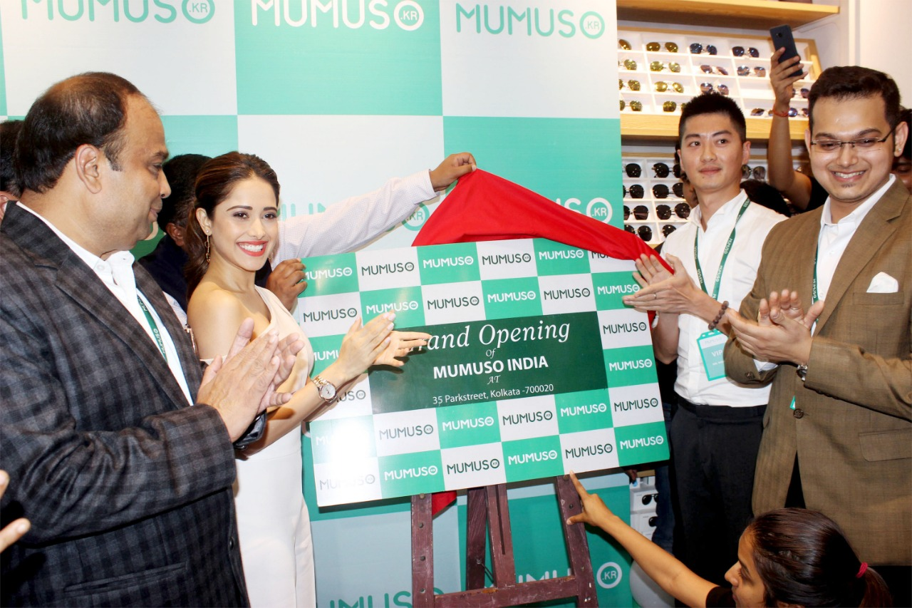 MUMUSO Launched their first flagship Store in Kolkata with actress Nushrat Bharucha