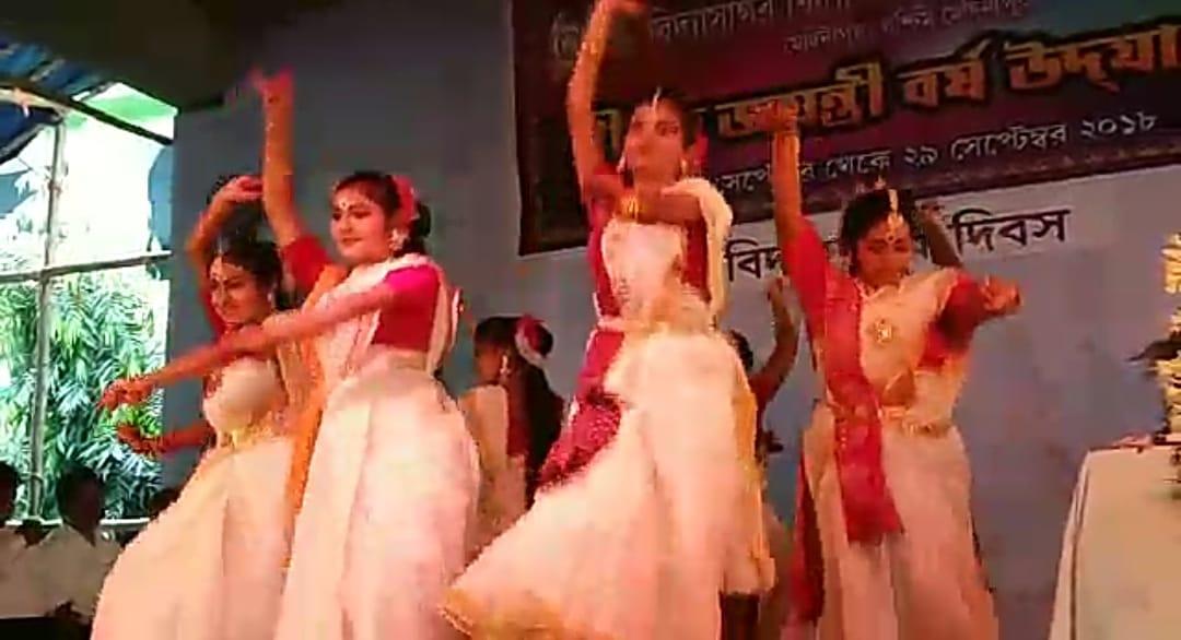 বিদ্যাসাগর বিদ্যাপীঠ গার্লস হাইস্কুলে হীরক জয়ন্তী বর্ষ উৎসব