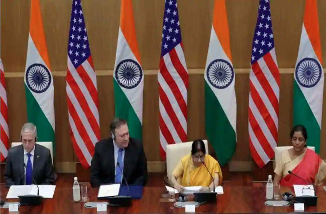 India, US Sign Key Defence Agreement