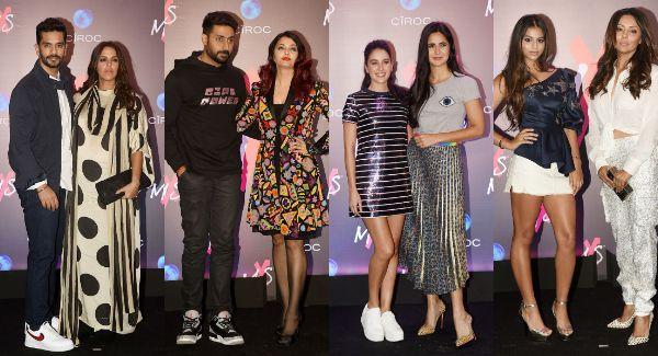 Abhishek Bachchan – Aishwarya, Katrina Kaif, Neha Dhupia – Angad Bedi, Suhana Khan attend the launch of Shweta Bachchan Nanda's store – view HQ pics!