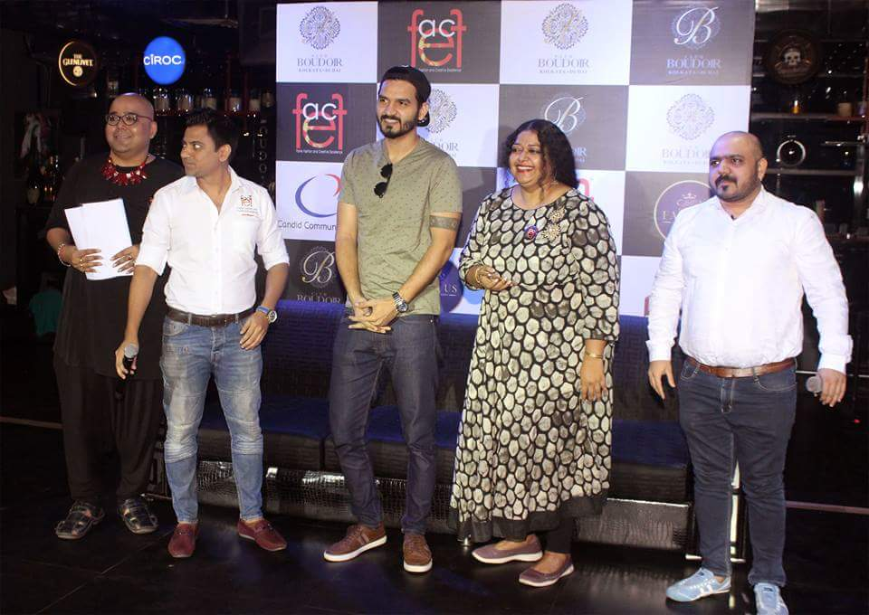 "Fface Calendar 2019"" in the esteemed presence of 'IsmeinTera Ghata' famed singer Gajendra Verma at Club Boudoir"