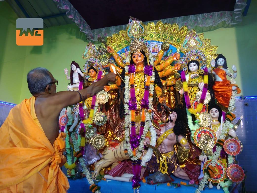 হুগলি জেলার প্রাচীনতম পুজো 'ভাঙা দালান'
