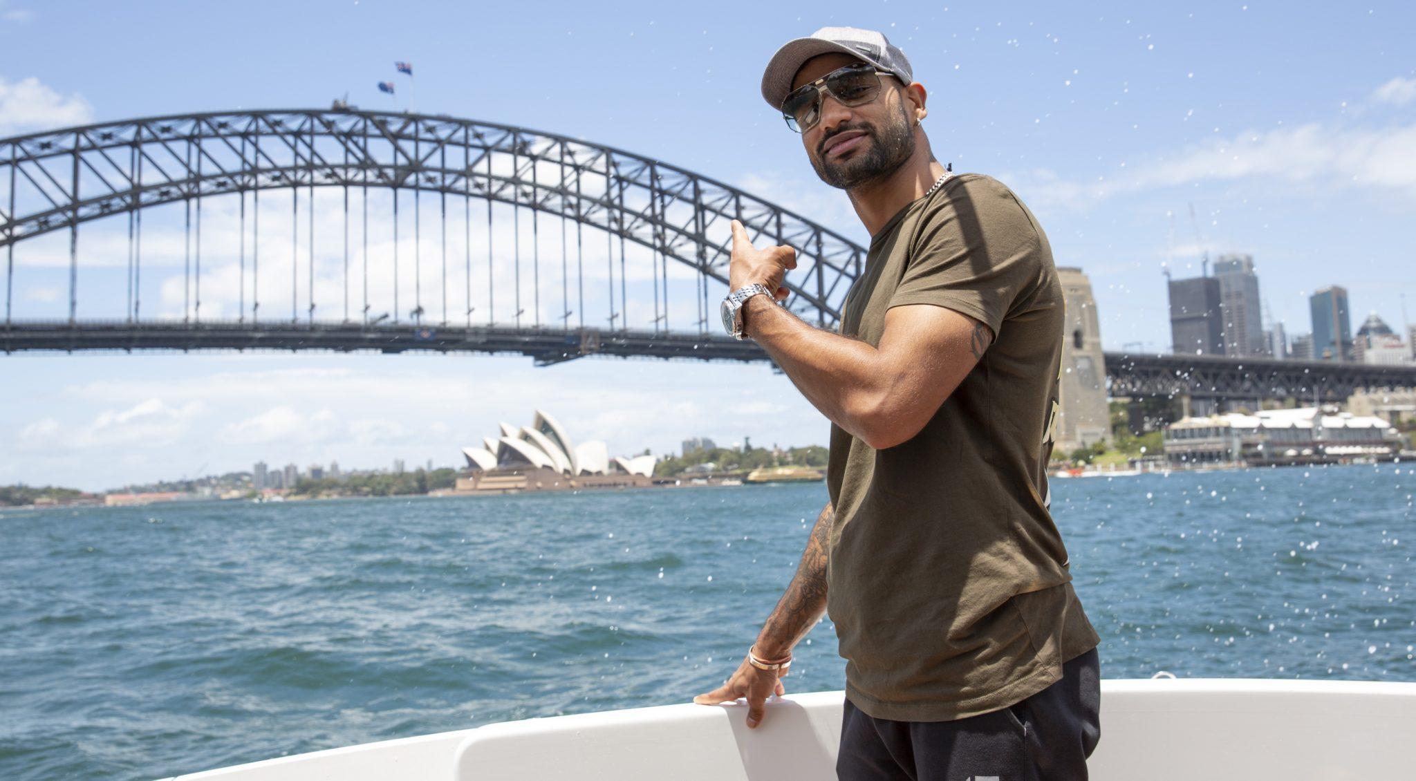 Shikhar Dhawan inspires Indians to UnDiscover Australia