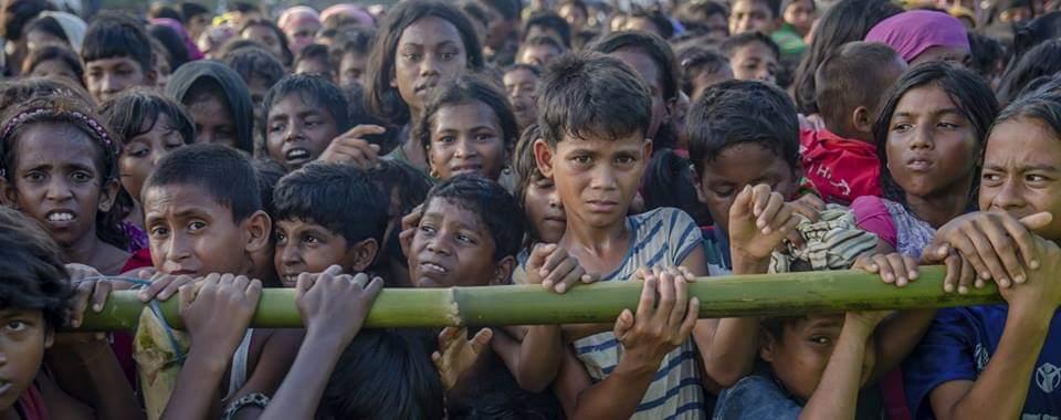 রোহিঙ্গাকে গুলি করেছে মিয়ানমার পুলিশ